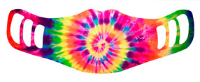 Rainbow Tie Dye - Kids Face Mask